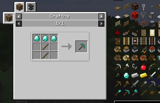 Just Enough Items - Minecraft mod