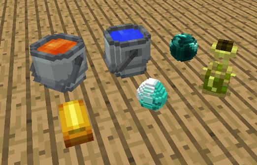 Placeable Items Minecraft Mod