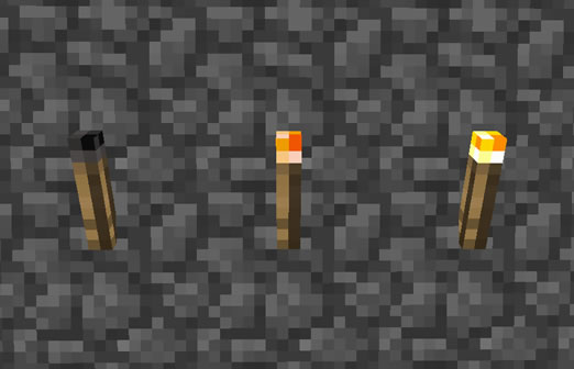 Realistic Torches inecraft Mod