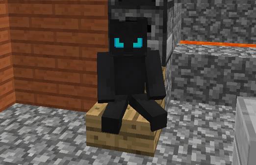 Sit Minecraft Mod
